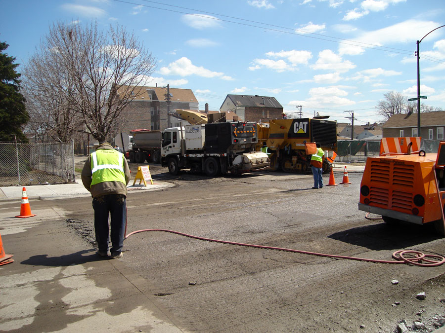 Milling, Road Builder Sweeping
